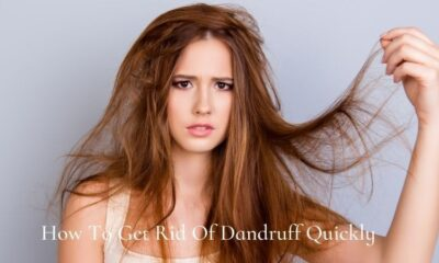 how to get rid of dandruff naturally quickly